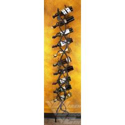 Bella ToscanaWall Wine Holder- 10 Bottle