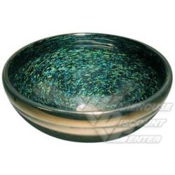 Bear Creek GlassBear Creek Glass Classic-Cosmos blown glass vessel sink.