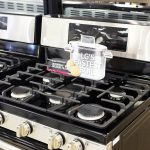 One of the newest gas range cooktops from LG showing off boiling point speed.