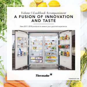 Download the Thermador Innovation Lookbook