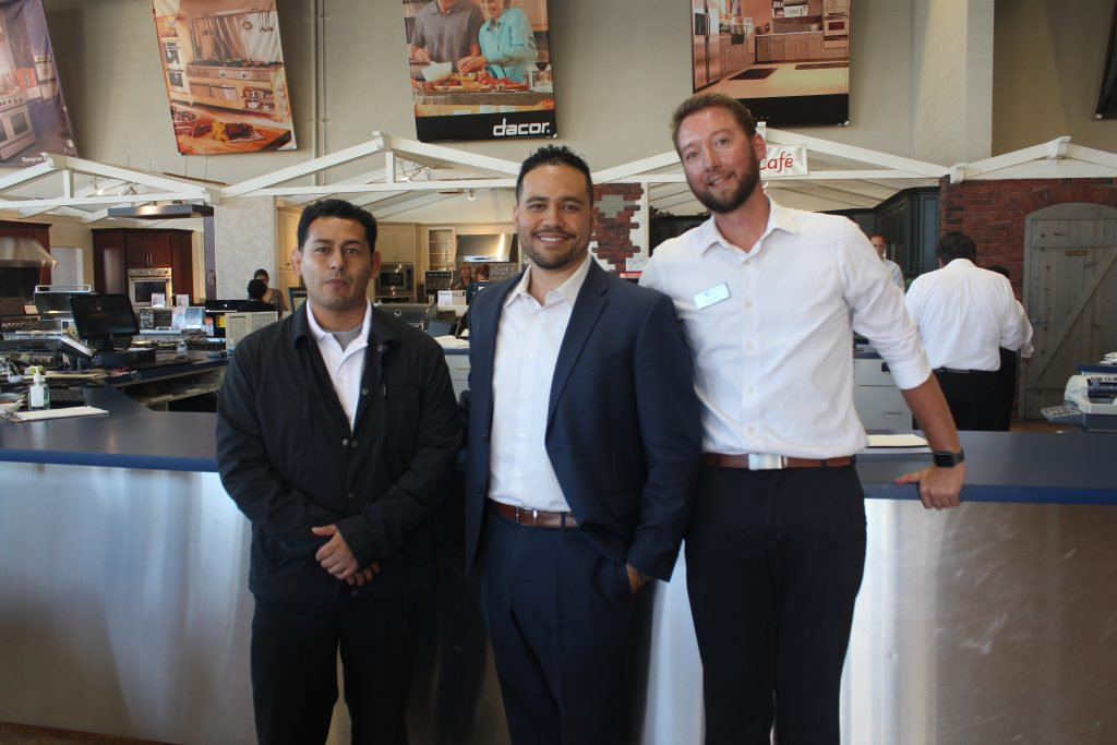 The welcoming staff of the WDC Kitchen & Bath of Torrance location