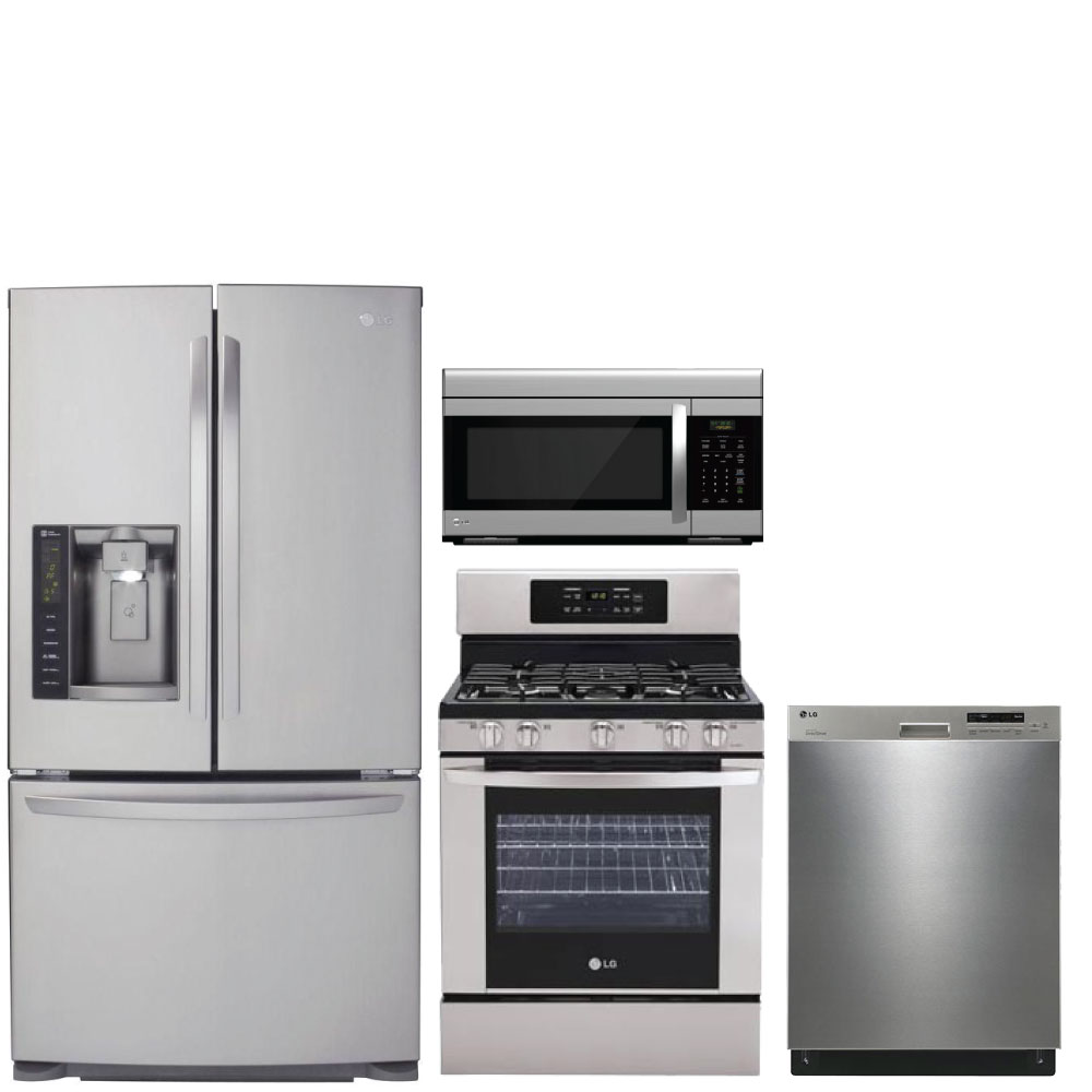 Discount Package Lg 4 Piece Kitchen Package