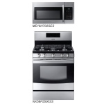 Samsung Stainless Steel Kitchen Package Cooking Pair