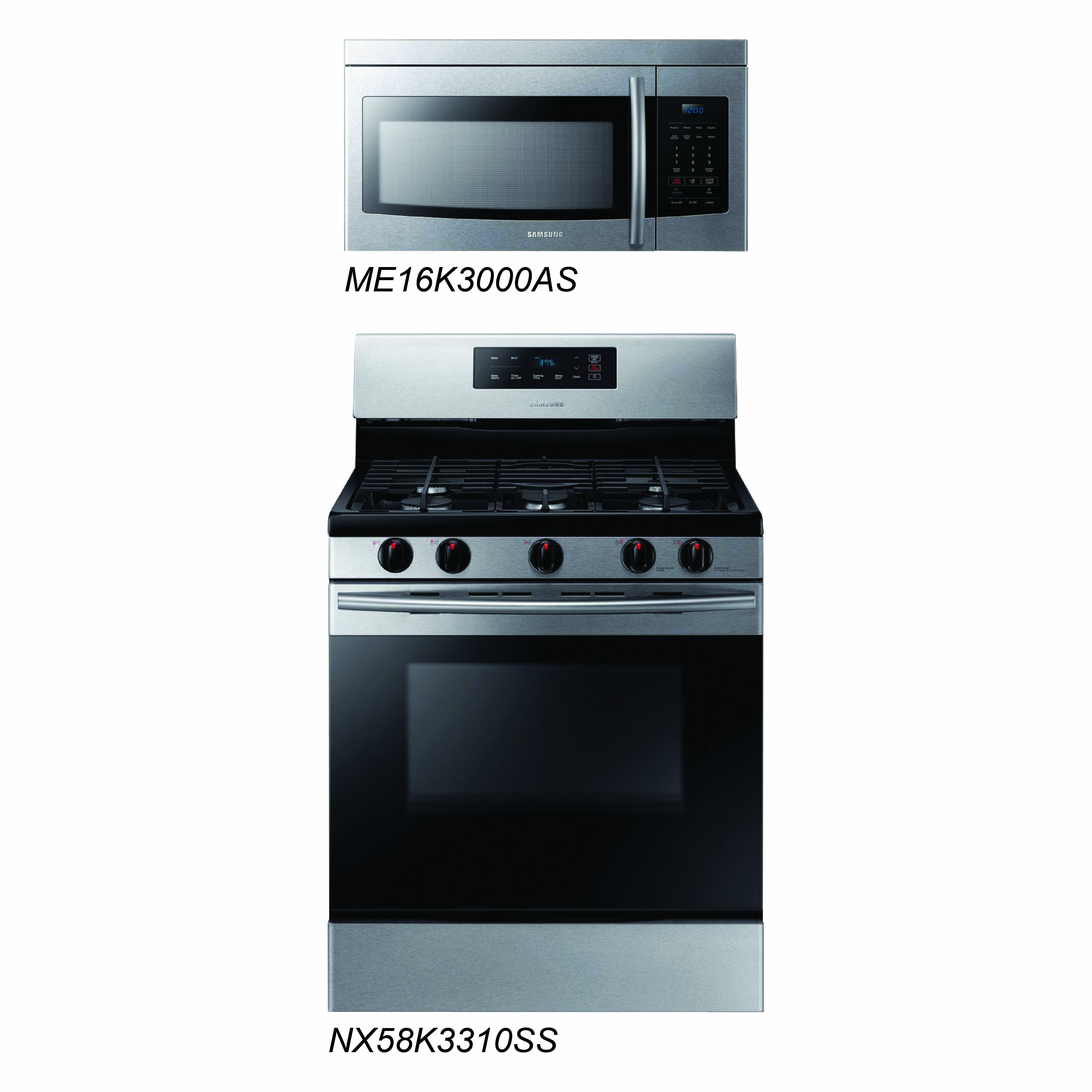 discount package samsung stainless steel kitchen cooking pair president 39 s day special. Black Bedroom Furniture Sets. Home Design Ideas