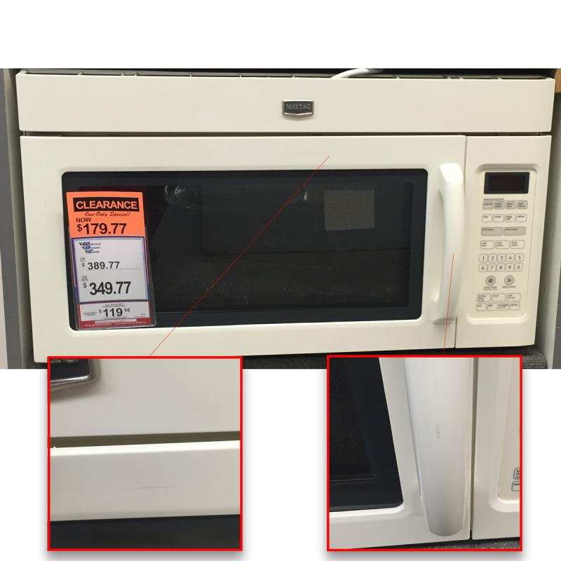 Over The Range Microwave With Stainless Steel Interior