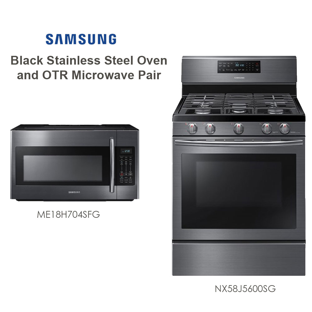Discount Package Samsung Black Stainless Steel Kitchen